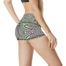 No Signal Women's All Over Print Yoga Shorts (Model L17)