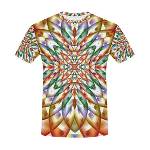 In Bloom All Over Print T-Shirt for Men (USA Size) (Model T40)