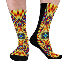 Pure Energy Mid-Calf Socks (Black Sole)