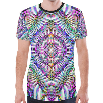 Coral Reefer New All Over Print T-shirt for Men (Model T45)