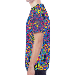 Alien Flora New All Over Print T-shirt for Men (Model T45)