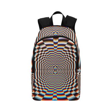 Psychosis Fabric Backpack for Adult (Model 1659)