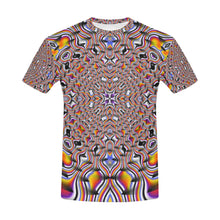 Ripples All Over Print T-Shirt for Men (USA Size) (Model T40)