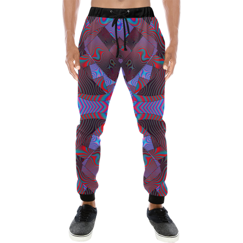 Artificial Intelligence Men's All Over Print Sweatpants (Model L11)