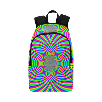 Hypnotic Fabric Backpack for Adult (Model 1659)