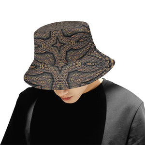 Elemental Earth All Over Print Bucket Hat for Men