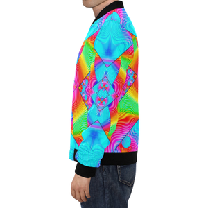 Rainbowdelik All Over Print Bomber Jacket for Men (Model H19)