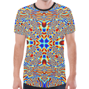 Chrysalis New All Over Print T-shirt for Men (Model T45)