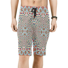 A Warm Place Men's All Over Print Board Shorts (Model L16)