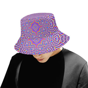 Ethereal All Over Print Bucket Hat for Men