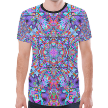 Colorburst New All Over Print T-shirt for Men (Model T45)