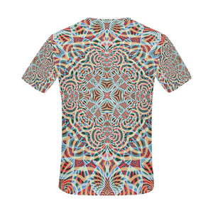 A Warm Place All Over Print T-Shirt for Men (USA Size) (Model T40)