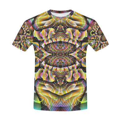 Ayahuasca All Over Print T-Shirt for Men (USA Size) (Model T40)