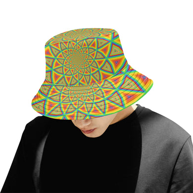 Colorspiral All Over Print Bucket Hat for Men