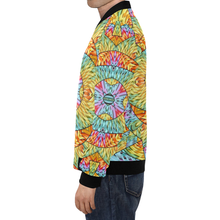 Eye of the Sun All Over Print Bomber Jacket for Men (Model H19)