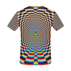 Psychosis All Over Print T-Shirt for Men (USA Size) (Model T40)