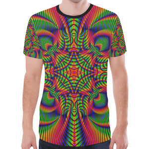 Tropical New All Over Print T-shirt for Men (Model T45)