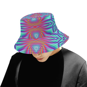 Spiral Factory All Over Print Bucket Hat for Men