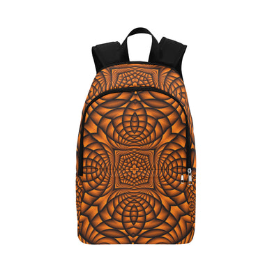 Pumpkin Fabric Backpack for Adult (Model 1659)