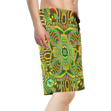 Amazonian Men's All Over Print Board Shorts (Model L16)
