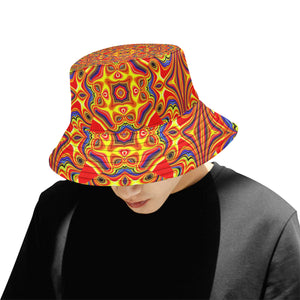 Samsara All Over Print Bucket Hat for Men