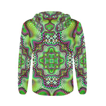 Borophyll All Over Print Full Zip Hoodie for Men (Model H14)