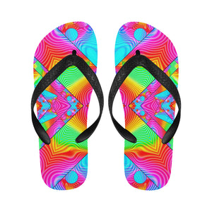 Rainbowdelik Flip Flops for Men/Women (Model 040)