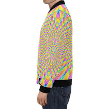Lightfield All Over Print Bomber Jacket for Men (Model H19)