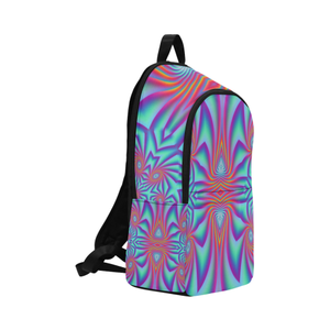 Spiral Factory Fabric Backpack for Adult (Model 1659)