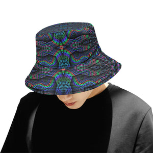 Elemental Water All Over Print Bucket Hat for Men