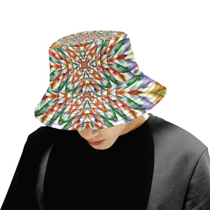 In Bloom All Over Print Bucket Hat for Men