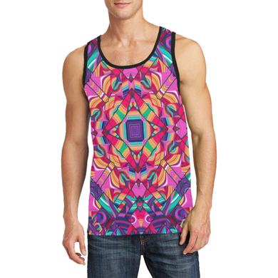 Valhalla Men's All Over Print Tank Top (Model T57)