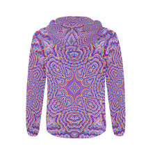 Ethereal All Over Print Full Zip Hoodie for Men (Model H14)