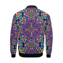 Alien Flora All Over Print Bomber Jacket for Men (Model H19)