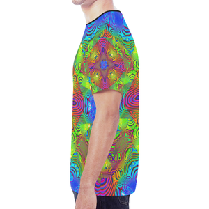 Paradise New All Over Print T-shirt for Men (Model T45)