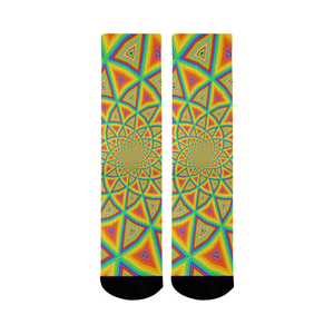 Colorspiral Mid-Calf Socks (Black Sole)