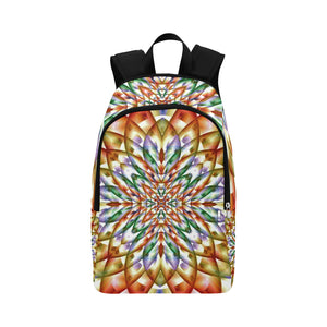 In Bloom Fabric Backpack for Adult (Model 1659)