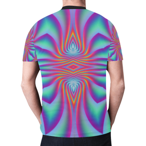 Spiral Factory New All Over Print T-shirt for Men (Model T45)