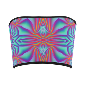 Spiral Factory Bandeau Top