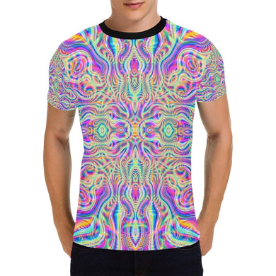 Blossom All Over Print T-Shirt for Men (USA Size) (Model T40)