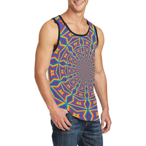 Groovy Men's All Over Print Tank Top (Model T57)