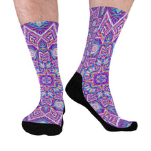 Delicate Mid-Calf Socks (Black Sole)