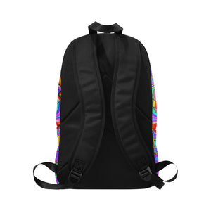Hyper Cube Fabric Backpack for Adult (Model 1659)