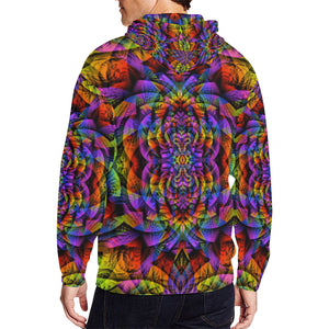 Consciousness All Over Print Full Zip Hoodie for Men (Model H14)