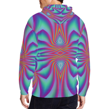 Spiral Factory All Over Print Full Zip Hoodie for Men (Model H14)