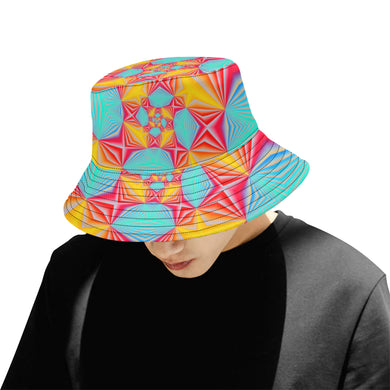 Vortex All Over Print Bucket Hat for Men