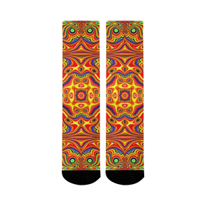 Samsara Mid-Calf Socks (Black Sole)