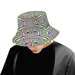 No Signal All Over Print Bucket Hat for Men