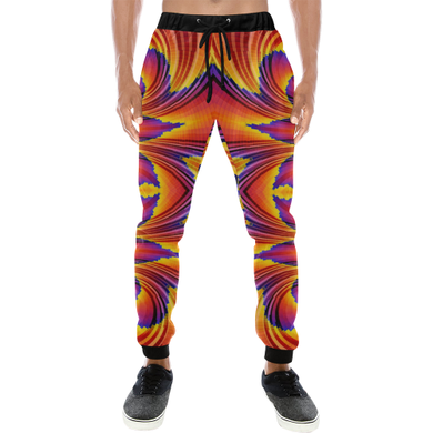 Firewave Men's All Over Print Sweatpants (Model L11)