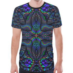 Elemental Water New All Over Print T-shirt for Men (Model T45)